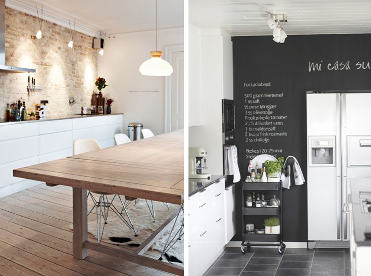 Deco kitchen inspiration taste of style - Cocinas nordicas ...