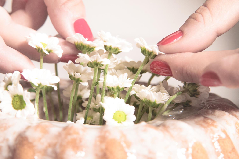 Torta di fiori